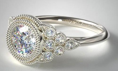Vintage Bezel Ring