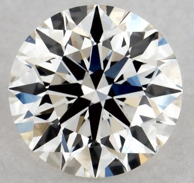natural round diamond