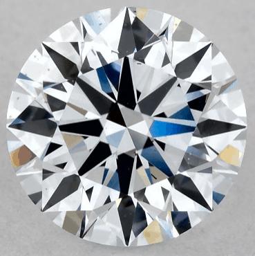 1ct Round Lab-created diamond