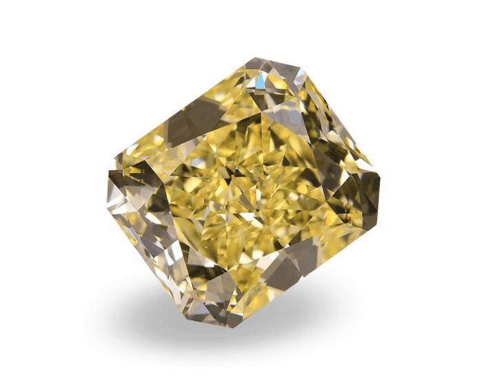 9 carat yellow diamond