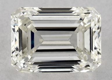 1ct lab-created emerald cut diamond