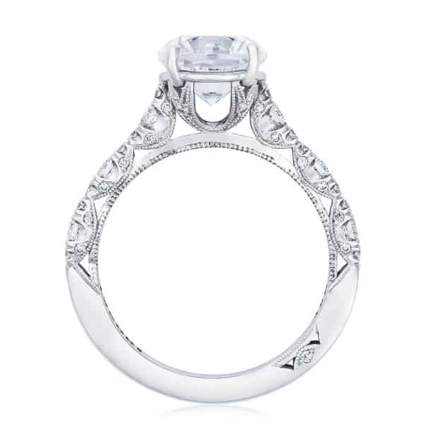 Tacori Crescent Ring Setting