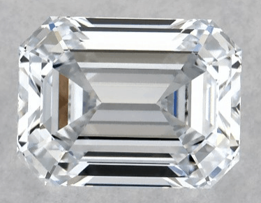 1ct lab-created emerald cut diamond
