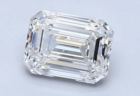 1..00ct H/VS1 Emerald Cut Diamond