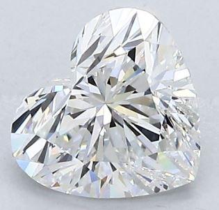 Heart shape diamond