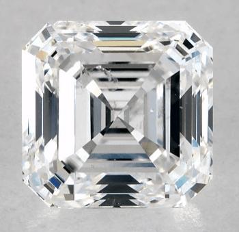 I1 Clarity Asscher Diamond