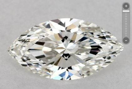 Ideal marquise cut
