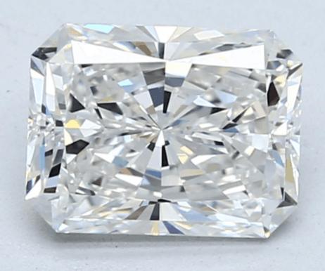 crushed ice radiant cut diamond