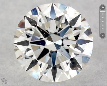 SI1 Eye-Clean Diamond from James Allen