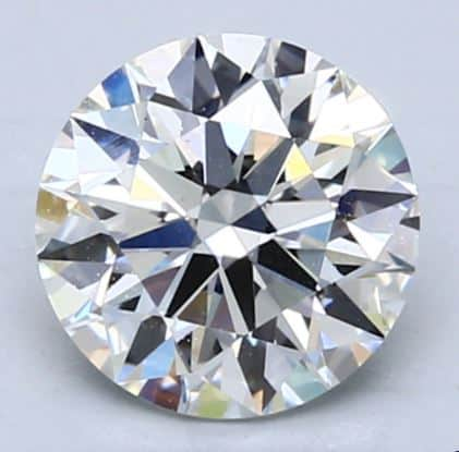 Eye-clean 1.50ct H/VS1 Round Cut Diamond