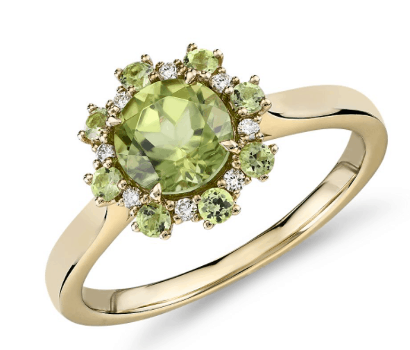 Peridot Ring from Blue Nile