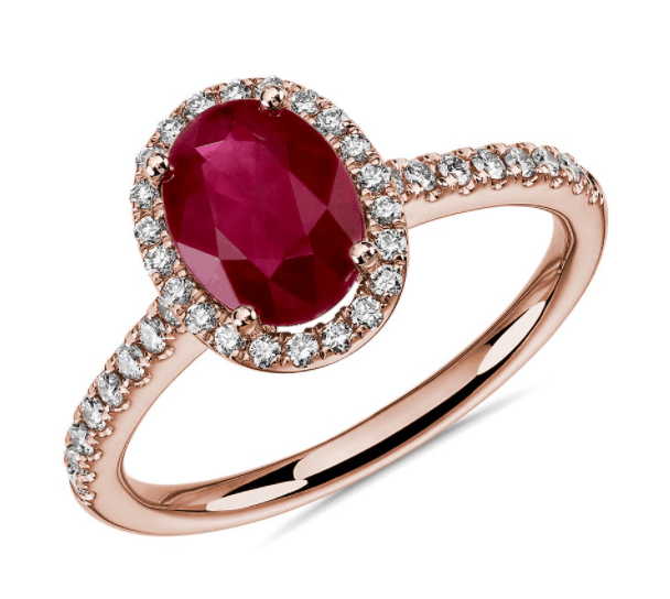 Ruby Ring from Blue Nile