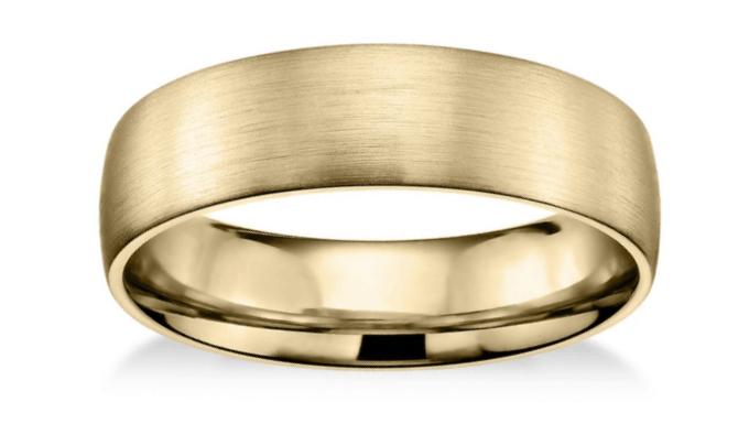Matte Classic Wedding Ring