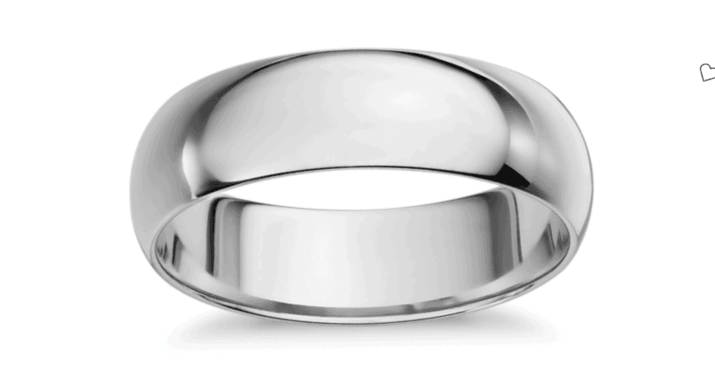 Mid-weight Comfort Fit Wedding Band