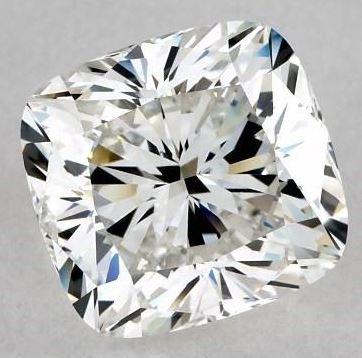 Well-Cut 2.50ct H/VS1 Cushion Cut Diamond