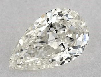 Eye-clean SI1 Pear Shape Diamond from James Allen