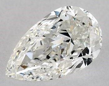 1.64 ratio pear shape diamond