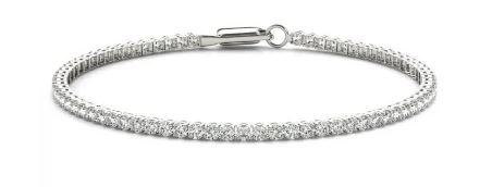 Tennis bracelet from Clean Origin