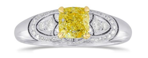 vintage ring from leibish
