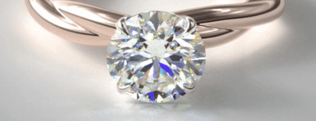 Pointed prong setting