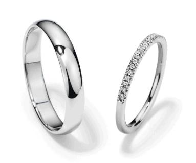 matching metal of wedding bands
