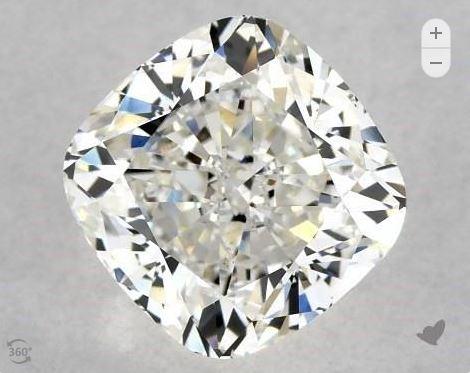 Cushion Cut GIA diamond