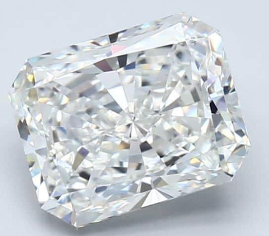Radiant Cut GIA diamond