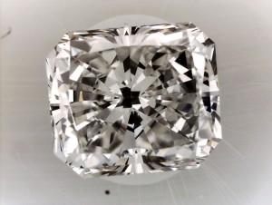 Crushed Ice Radiant Cut Diamond Image