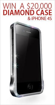 $20K Diamond & Ruby iPhone Case Giveaway from James Allen