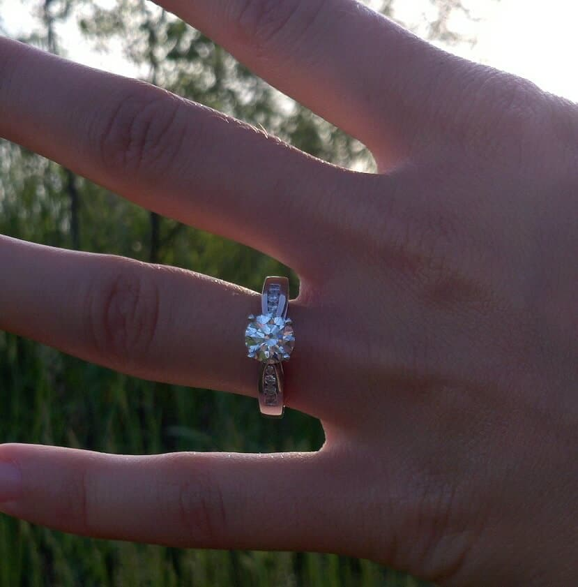 The Ring after the She Said Yes!