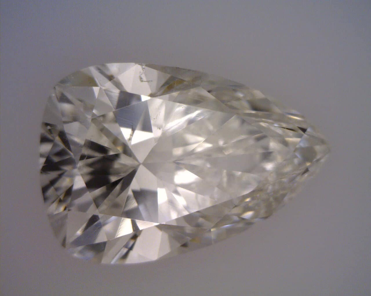 Triangular Pear Shape diamond